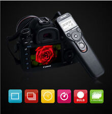 LCD Timer Remote Shutter Release for Sony A900 A850 A580 A77 A55 A37 7D 5D A100