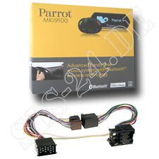 Parrot MKi9100 Bluetooth Freisprechanlage + BMW FSE Adapter 17Pin Rund Pin bis01