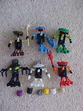 Lego Bionicle 6 BOHROK VA  Figures & Krana 8550-8555 Complete with Instructions