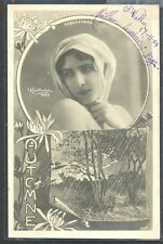 QA138 ARTIST STAGE STAR BEAUREGARD SEASON AUTOMN Tinted PHOTO pc REUTLINGER 1904
