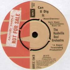 "[ROGER GREENAWAY] NASHVILLE SOUL ORCHESTRA ~ CAN U DIG IT ~ 1976 UK 7"" SINGLE"