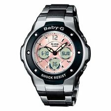 Casio MSG300C-1BER/MSG300C-1B Baby-G Shock/Water Resistant Ladies Analogue Watch
