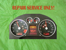 Audi TT Instrument Cluster Complet Repair (Complete Rebuild) With New LCD