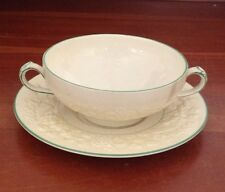 George Jones and Sons Rhapsody Josephine Cream Soup Bowl with Saucer