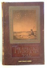 The Greatest Story Ever Told by Fulton Oursler Leather Special Edition 1953