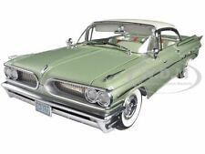 1959 PONTIAC BONNEVILLE GREEN HARD TOP 1/18 PLATINUM EDITION BY SUNSTAR 5173
