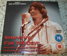 SYMPATHY FOR THE DEVIL -ROLLING STONES SUNDAY TIMES PROMO DVD  FREE UK POST