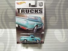 2017 HOT WHEELS ''car culture - trucks''  = DATSUN 620 = LT.BLUE