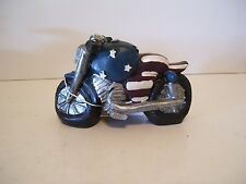 PATRIOTIC RESIN STARS & STRIPES MOTORCYCLE DECORATION 4TH OF JULY AMERICANA