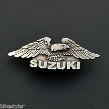 Sm) Suzuki volusia intruder marauder Savage Boulevard Motorcycle Metal Badge Pin