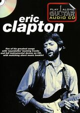 Play Along Guitar Eric Clapton Aprende A Tocar Rock Blues Etiqueta música Book & Cd