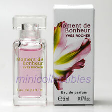 Yves Rocher MOMENT DE BONHEUR  Eau de Parfum 5 ml Miniature Bottle New in Box