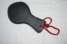 Sexy Black Faux Leather Spanking Paddle Novelty Stag / Hen Parties Fun