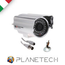 TELECAMERA CAMERA VIDEOSORVEGLIANZA INFRAROSSI 48 LED CCD SONY 3,6MM 800 TVL
