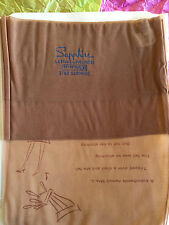 Vintage Sapphire, Star Sapphire Full Fashioned nylon stockings, Candy Puff sz. 9