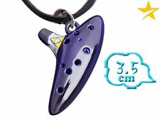 CIONDOLO THE LEGEND OF ZELDA NECKLACE COLLANA LINK COSPLAY OCARINA OF TIME GAME