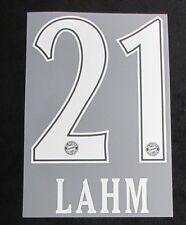 Bayern München LAHM FAN Shop-Flock für adidas Home Trikot 2010-2011 110 Jahre