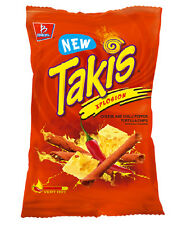 TAKIS Explosion cheese and Chili Tortilla Chips
