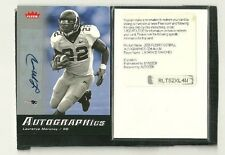 LAURENCE MARONEY  06 FLEER AUTOGRAPHICS SSP 1 / 3 VARIATION NEW ENGLAND PATRIOTS