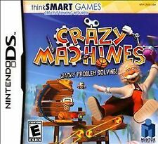 New Sealed Nintendo DS Crazy Machines Think SMART Games FREE SHIPPING!!