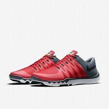 Nike Free Run 5.0 V6 TR Running Training Shoes Men's Size 11.5 New Red Gray