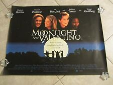 MOONLIGHT & VALENTINO movie poster GWYNETH PALTROW poster - Original UK Quad