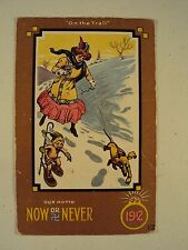 Swastika / Now or Never / 1912 / Snow Shoe Cupid / Engagement Ring / Postcard