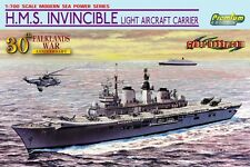 1/700 HMS Invincible Falklands War aircraft carrier - Premium Cyber Hobby #7128