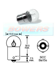 LUCAS LLB244 6V 10W R10W SCC BA15S SINGLE CONTACT LIGHT BULB BAYONET FITTING