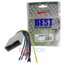 Honda Aftermarket Car Radio Replacement Installation Vehicle Harness Cable New