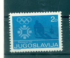 OLYMPIC WINTER GAMES SARAJEVO 1984 - YUGOSLAVIA 1983 Charity Stamp