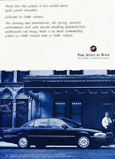 1997 Buick Park Avenue - power -  Classic Vintage Car Advertisement Ad J53