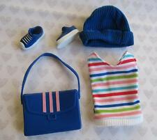 LIV FASHION DOLL KATIE 1ST ISSUE SPIN MASTER~oufit CLOTHES HAT SHOES PURSE SHIRT