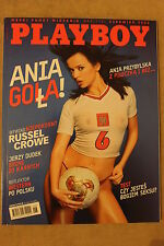 Playboy 6/2002 Ania Przybylska,Russell Crowe,Nicole Narian,Sade