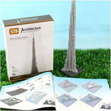 LOZ Diamond Architecture Dubai Burj Khalifa Tower Model Building Blocks Toy  G8