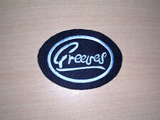 CLASSIC GREEVES EMBROIDERED MOTORCYCLE PATCH-VILLIERS/2 STROKE