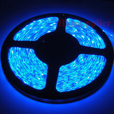 Blue 5M Waterproof 3528 SMD LED Strips Lights 60Leds/M