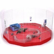 Pet Cage Playpen Mat 8 Panel Small  Animal Floor cover Mat Accident Prevention
