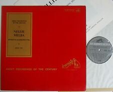 "Nellie Melba Operatic & Song Recital (6493) 12"" LP  His Master's Voice COLH. 125"