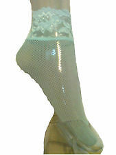 Brand New Ann Summers Aqua Micro Fishnet Anklets - Hosiery Xmas Gift - Dress Up