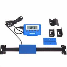 """12"""" Stainless Steel Digital Remote Readout DRO Quill Table Scale for Mill Lathe"""