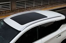 Silver Decorative Roof Rack Side Rail Luggage Babbage Bar For Nissan Murano 2015