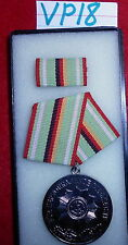 "VP18  East German Medal, 10 years ""True Service"" in the ministry of the Interior"