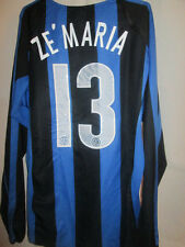Inter Milan 2004-2005 Ze Maria Home Football Shirt Size Large /3560