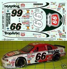 NASCAR DECAL #66 PHILLIPS 66 TROPARTIC 1999 BGN MONTE CARLO TODD BODINE SLIXX