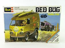 Vintage Revell 1/25 Bed Bug Panel Pad model kit Volkswagen VW bus surf wagon