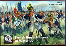 Waterloo 1815 Miniatures 1/72 FRENCH LINE VOLTIGEURS AT WATERLOO Figure Set