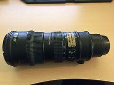 Nikon Zoom-NIKKOR 70-200mm f/2.8.8G AF-S VR ED G Lens
