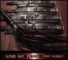 Bondage Frusta Gag Polsini Alla Caviglia Restrizioni Fetish 5 * alta qualità resistente