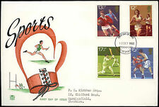 GB FDC 1980 Sports, Stockport FDI #C33322